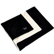Eseco Winter kötött takaró - fekete - Babakocsi takaró