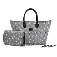 KINDERKRAFT Mommy Bag Grey Pelenkázó táska - Pelenkázó táska