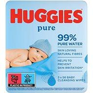 HUGGIES Pure Triplo (3× 56 db) - Baba törlőkendő
