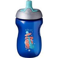 Tommee Tippee Csöpögésmentes sportkulacs 12 m+ Blue, 300 ml