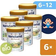 Kendamil BIO Nature haladó tápszer 2 DHA+ (6 × 800 g) - Bébitápszer