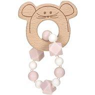 Lässig Teether Bracelet Little Chums mouse - Baba rágóka