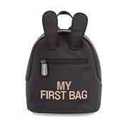 CHILDHOME My First Bag Black - Hátizsák