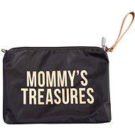 CHILDHOME piperetáska pánttal Gold - Kozmetikai táska