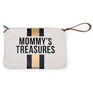 CHILDHOME tok fehér / fekete arany hurokkal - Kozmetikai táska
