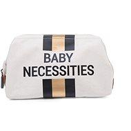 CHILDHOME Off White / Black Gold kozmetikai táska - Kozmetikai táska