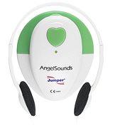 AngelSounds JPD 100S Prenatális monitor, fehér / zöld - Légzésfigyelő