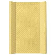 Ceba pelenkázó alátét puha, kétoldalú, 70 × 50 cm, Caro Mustard Ceba - Pelenkázó alátét