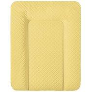 Ceba pelenkázó szőnyeg komódhoz, puha 70 × 50 cm, Caro Mustár Ceba - Pelenkázó alátét