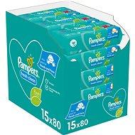 PAMPERS Fresh Clean Baby 15×80 db - Baba törlőkendő