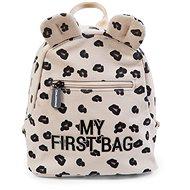 CHILDHOME My First Bag Canvas Leopard - Hátizsák