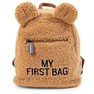 CHILDHOME My First Bag Teddy Beige - Hátizsák