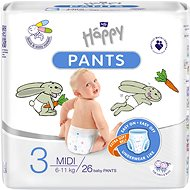 Bella Baby Happy Pants Midi 3-as méret (26 db)