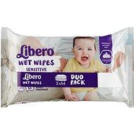 Libero Wet Wipes Sensitive Duo Pack 2× 64 db - Baba törlőkendő