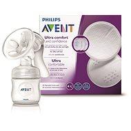 Philips AVENT Natural 125 ml-es tejtárolóval + 60 db melltartóbetét - Mellszívó