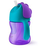 Philips Avent pohár rugalmas szívószállal, 200 ml, lányoknak