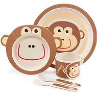 ZOPA Bambusz étkészlet - Monkey - Gyerek étkészlet