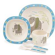 ZOPA Bambusz étkészlet - Elephant - Gyerek étkészlet
