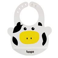 Zopa szilikon előke - Cow - Előke