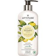 ATTITUDE Super Leaves Natural Hand Soap Lemon Leaves 473 ml - Folyékony szappan