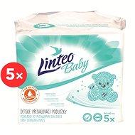 LINTEO BABY Pelenkázó alátétek 60 × 60 cm, 5 × 5 db - Pelenkázó alátét