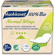 VUOKKOSET 100% BIO Normal Wings thin 12 db - Öko intimbetét