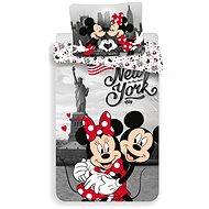 """Jerry Fabrics ágyneműhuzat - Mickey&Minnie in New York """"Love"""" - Gyerek ágyneműhuzat"""