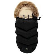 Zopa Winter Fluffy fuszak - Fekete - Babakocsi bundazsák