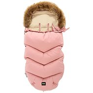 Zopa Fluffy téli lábzsák - rózsaszín - Babakocsi bundazsák