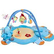 PlayTo zenélő játszószőnyeg - elefántos, függő játékokkal - Játszószőnyeg
