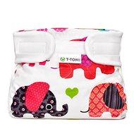 T-tomi terpeszpelenka, rózsaszín elefántok (3-6 kg) - Terpeszpelenka
