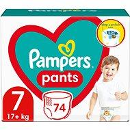 PAMPERS Pants Mega Pack+, 7-es méret (80 db) - Bugyipelenka