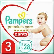 PAMPERS Premium Pants Carry Pack 3-as méret (28 db) - Bugyipelenka