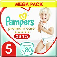PAMPERS Premium Pants Mega Box méret: 5 (4 × 20 db) - Bugyipelenka