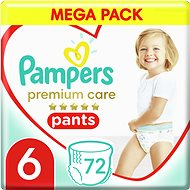 PAMPERS Premium Pants Mega Box 6. méret (4 × 18 db) - Bugyipelenka