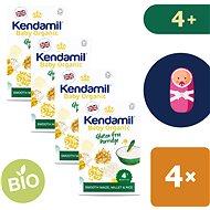 Kendamil Bio / organikus gluténmentes zabkása 4 × 150 g - Tejmentes zabkása