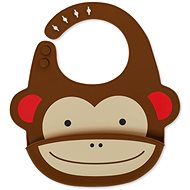 Skip Hop Zoo szilikon előke - Majom - Előke