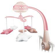 CANPOL BABIES Kiságyforgó csillagok - rózsaszín - Körforgó
