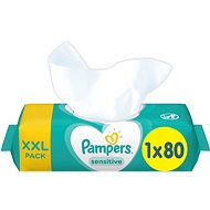 PAMPERS Sensitive XXL 80 db - Baba törlőkendő