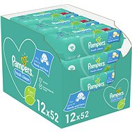 PAMPERS Fresh Clean 12× 52 db - Baba törlőkendő