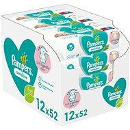 PAMPERS Sensitive 12× 52 db - Baba törlőkendő