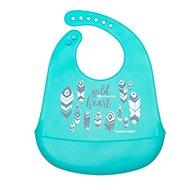 Canpol babies - szilikon előke zsebbel WILD NATURE kék - Előke