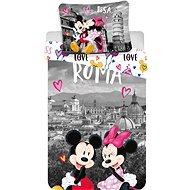 Jerry Fabrics ágyneműhuzat - Mickey&Minnie in Rome - Gyerek ágyneműhuzat