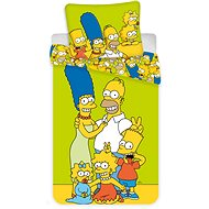 "Jerry Fabrics ágyneműhuzat - The Simpsons Family ""Green"""