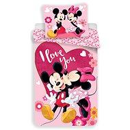 """Jerry Fabrics ágyneműhuzat - Mickey&Minnie """"Kiss"""" - Gyerek ágyneműhuzat"""