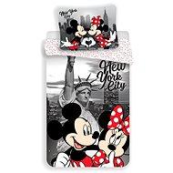 Jerry Fabrics ágyneműhuzat - Mickey&Minnie in NY - Gyerek ágyneműhuzat