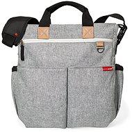 Skip Hop Duo Signature pelenkázótáska - grey melange - Pelenkázó táska