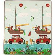 Zopa Play habszivacs alátét- Utazás / Állatok - Játszószőnyeg