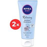 NIVEA Baby Bottom Ointment 2× 100 ml - Pelenkakiütés elleni krém