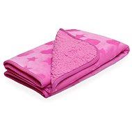 SCAMP gyerek takaró, rózsaszín - Babakocsi takaró